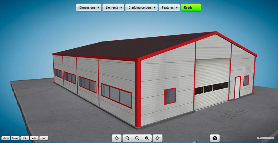 Hall configurator 1st architect for House configurator